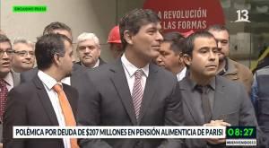 Franco Parisi debe pensión alimenticia: serían $207 millones
