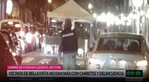 Vecinos del Bellavista denuncian carretes masivos y delincuencia en la zona
