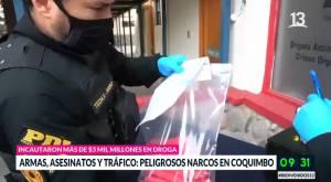 Funcionarios de PDI fueron emboscados en Los Vilos: robaron su armamento y placas