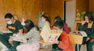 Nos activamos por la educación de los niños de un campamento en Puente Alto