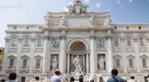Paula nos mostró la Fontana di Trevi y el Panteón en Roma
