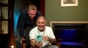 Martín Cárcamo y Leo Méndez pusieron a prueba a sus hijos en Whatsapp