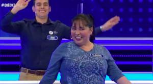 """Participante de """"Los Poblete"""" sorprende cantando en ¡Qué Dice Chile!"""