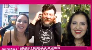 """Rodrigo Salinas en """"Confinadas"""""""