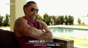 Marceo Ríos y polémica con Pamela Jiles