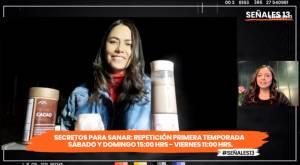 """Señales 13 –Capítulo 20- Carola Bezamat nos adelantó la segunda temporada de """"Secretos para Sanar"""""""