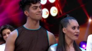 Vale Roth y David Saéz en Bailando por un sueño
