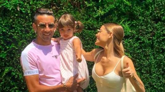 Mauricio Isla revela el gran parecido de Gala Caldirola y su hija