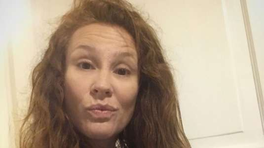 Sigrid Alegría cautiva con foto en lencería a sus 46 años