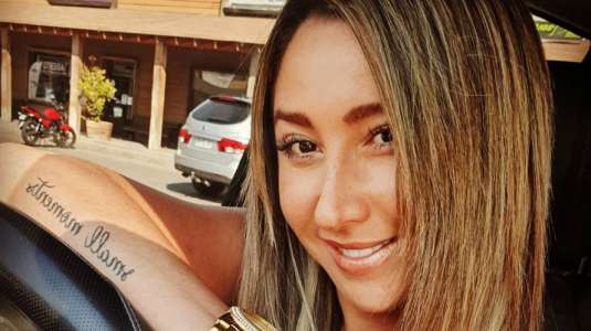 """Nicole """"Luli"""" Moreno y sus divertidos Tik tok haciendo el aseo"""