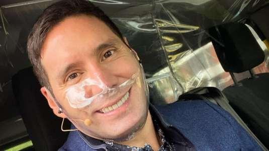 "Pancho Saavedra sube una foto ""en pelota"" a Instagram"