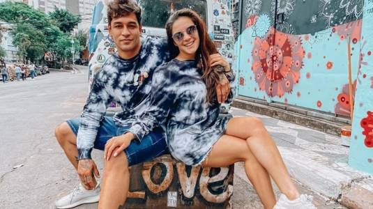 La íntima postal con la que Thiago Cunha declara su amor a Chantal Gayoso