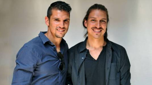 Mark González le pagó los estudios a su hermano actor