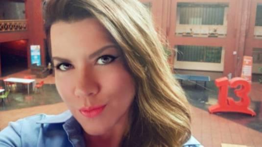 Carlalí Villalba reaparece en Canal 13 como notera en terreno