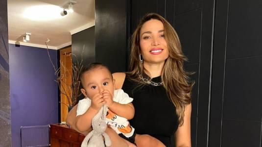 """Lisandra Silva muestra lo grande que esta Noah: """"Eres mi inspiración"""""""