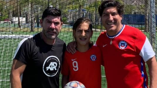 Hijas de Marcelo Salas e Iván Zamorano se lucen en foto juntas