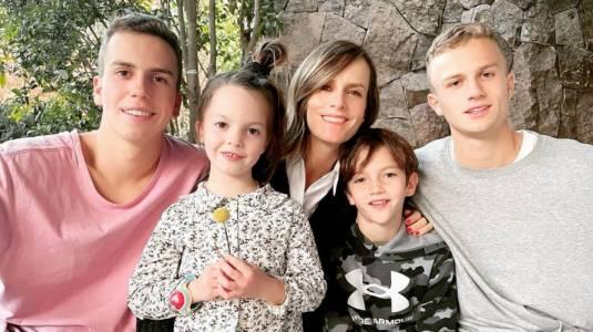 Diana Bolocco muestra lo grande que están sus hijos en fin de semana familiar