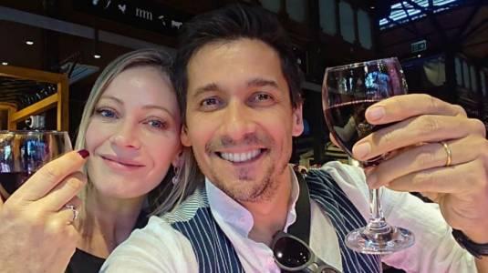 Marcela Vacarezza y Rafa Araneda celebran 21 años de matrimonio