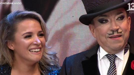"""Hija de Aníbal Pachano se roba las miradas en """"Bailando por un Sueño"""""""