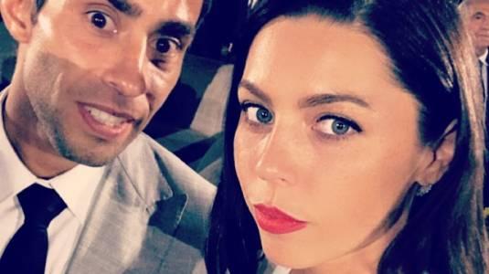 Daniela Aránguiz y Jorge Valdivia combinan sus looks en cita