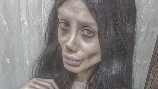 Doble iraní de Angelina Jolie está en la cárcel y contrajo coronavirus