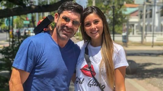 Hija de Marcelo Salas impacta en bikini desde las Bahamas