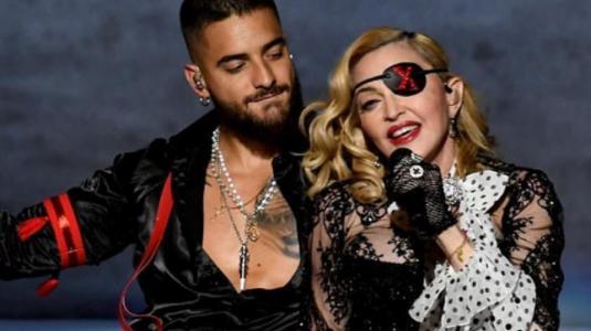 Presentación de Maluma y Madonna en los Billboard impactó en redes sociales