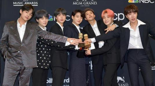 ¡Impactante! BTS arrasó en los premios Billboard 2019