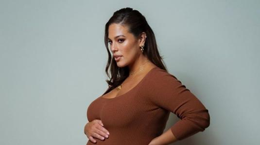 Ashley Graham presentó a su primer hijo