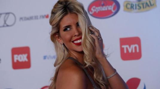 Cote López reacciona tras su paso por la alfombra roja de la Gala de viña 2019