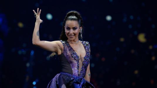 El look de Denise Rosenthal en su debut en Viña 2020