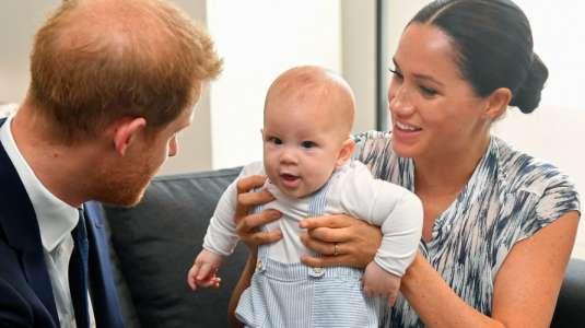 Meghan y Harry comparten tierno video de su hijo Archie en su primer cumpleaños