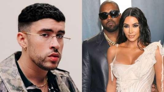 Canción de Bad Bunny predijo crisis matrimonial de Kim Kardashian y Kanye West