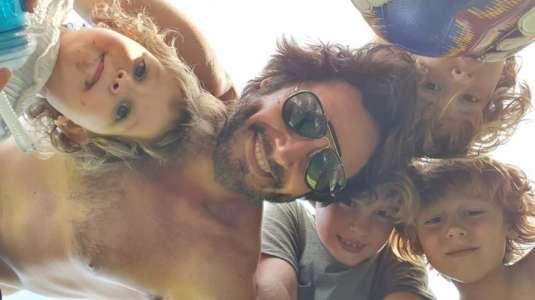 """Benjamín Vicuña explicó por qué sus hijos con """"Pampita"""" tienen nombres con """"B"""""""
