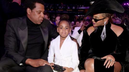 Blue Ivy hizo callar a Beyoncé y Jay-Z en los Grammy 2018