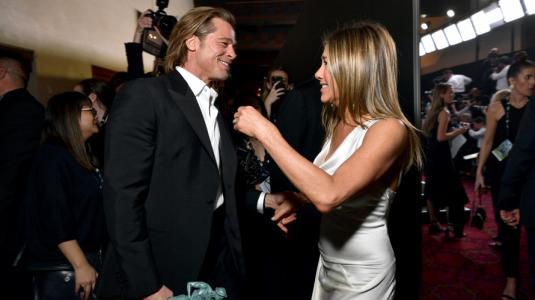 Tabloides estadounidenses aseguran que Brad PItt y Jennifer Aniston se van a casar