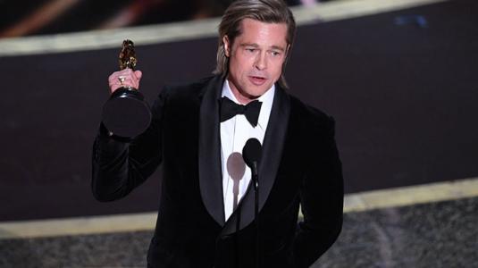 Brad Pitt ganó el primer Oscar de su carrera como actor