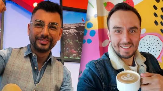 Andrés Caniulef revela antiguo romance con César Campos