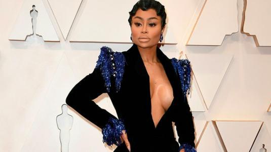 Blac Chyna fue a los Oscar y nadie sabe por qué