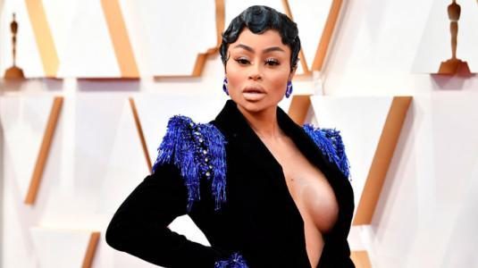 ¡Misterio resuelto! Blac Chyna cuenta por qué estaba en los Premios Oscar