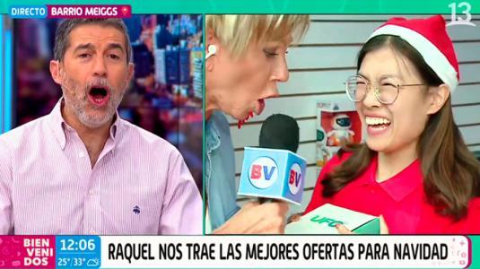 ¡Chascarro en vivo! Respuesta dejó espantada a Raquel Argandoña