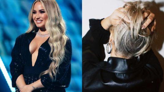 Demi Lovato sorprende con drástico corte de cabello