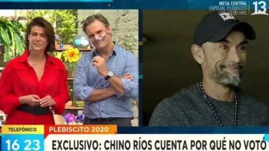 """""""Chino"""" Ríos indignado: no quiso quedar de vocal de mesa y no pudo votar"""