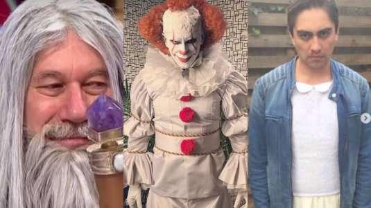 Halloween: los mejores disfraces de famosos chilenos para inspirarse