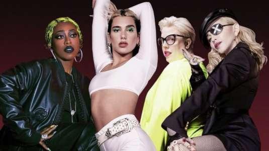 Dua Lipa confirma colaboración con Madonna y Missy Elliott