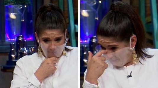 Josefina Velasco se emociona hasta las lágrimas con mensaje de su nieta