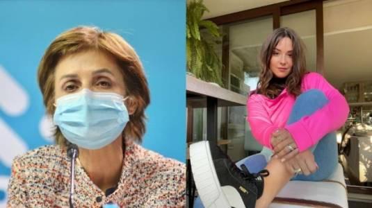 Paula Daza llama a vacunarse con video de Kel Calderón
