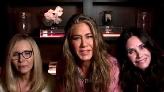 """El reencuentro de las actrices de """"Friends"""" en los premios Emmy 2020"""