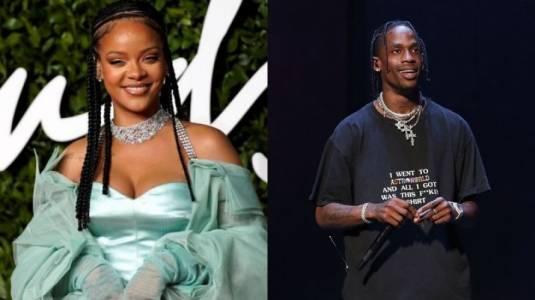 ¿Rihanna y Travis Scott tuvieron un amor secreto?