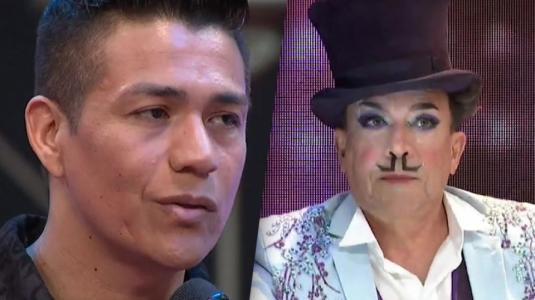 """Aníbal Pachano a Américo: """"Como bailarín eres un buen cantante"""""""